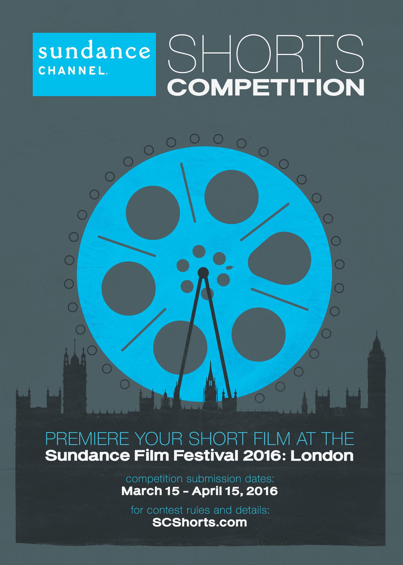 Sundance Channel Shorts Poster Emma Webb Design