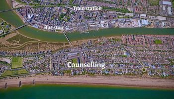 shoreham-beach-counselling-location close to transport links