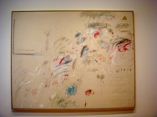 Cy Twombly the First Part of the Return From Parnassus
