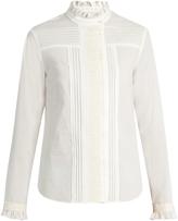 http://www.matchesfashion.com/products/Weekend-Max-Mara-Tropico-cotton-poplin-blouse-1081197
