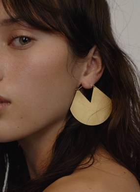 http://www.matchesfashion.com/products/Fay-Andrada-Viuhka-brass-earrings-1166947