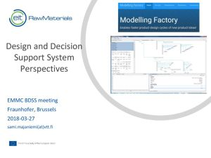 thumbnail of VTT – Business Decision Support System (BDSS) – EMMC website
