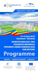 EMMC @ EuroNanoForum 2019 in Bucharest / June 12-14, 2019
