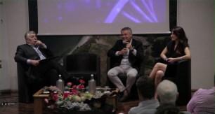 Maurizio Cuzari , Amministratore Delegato SIRMI SPA; Massimo Pizzocri, MD Epson Italy & Consumer Sales di Epson Europe - Tavola Rotonda Portonovo (AN) il 26/06/2015