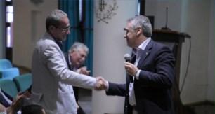 Gianfilippo Paparelli, AD IMA e Massimo Pizzocri MD Epson Italy & VP Consumer Sales di Epson Europe - Tavola Rotonda Portonovo (AN) il 26/06/2015