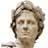 Testa di statua di Giulio Cesare. E\' già troppo la testa, figuriamoci la statua intera