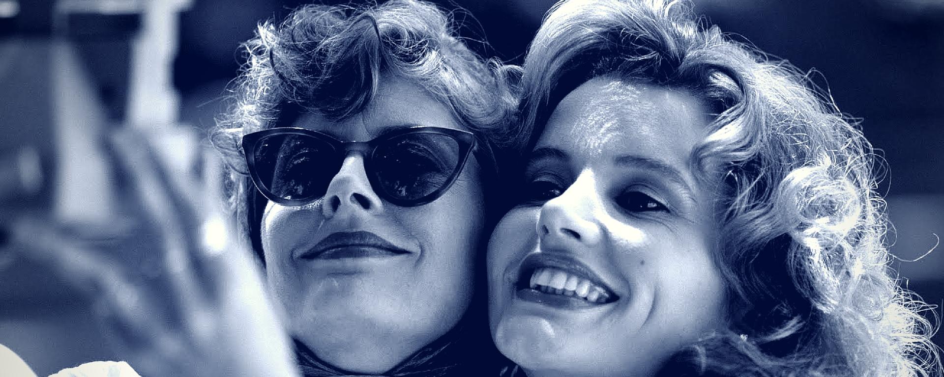 Thelma & Louise in blu