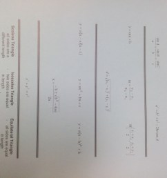 MPM2D - Principles of Mathematics   Mr. Emmell @ WCSS [ 2448 x 3264 Pixel ]