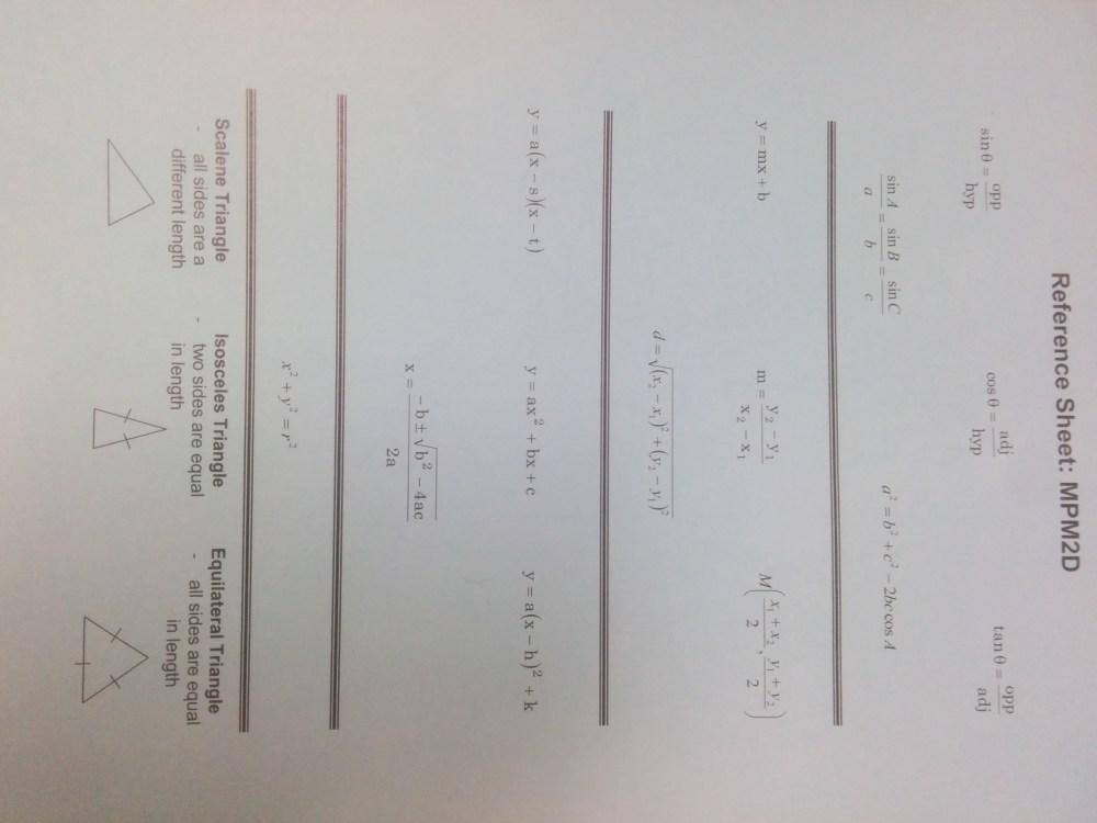 medium resolution of MPM2D - Principles of Mathematics   Mr. Emmell @ WCSS