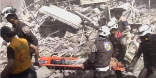 Alep-Bostan-Al-Qasr-28-av-2016--Attaque-de-l'aviation-du-régime-10