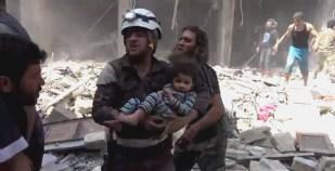 Alep-Bostan-Al-Qasr-28-av-2016--Attaque-de-l'aviation-du-régime-4