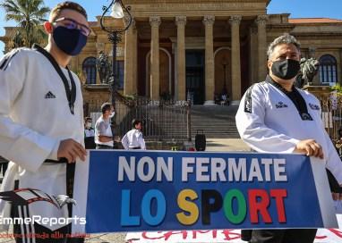 Non Fermate Lo Sport: il flash mob