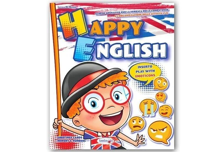 """Libro operativo inglese scuola infanzia """" HAPPY ENGLISH"""""""