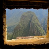 Machu Pichu Framed View - WIY