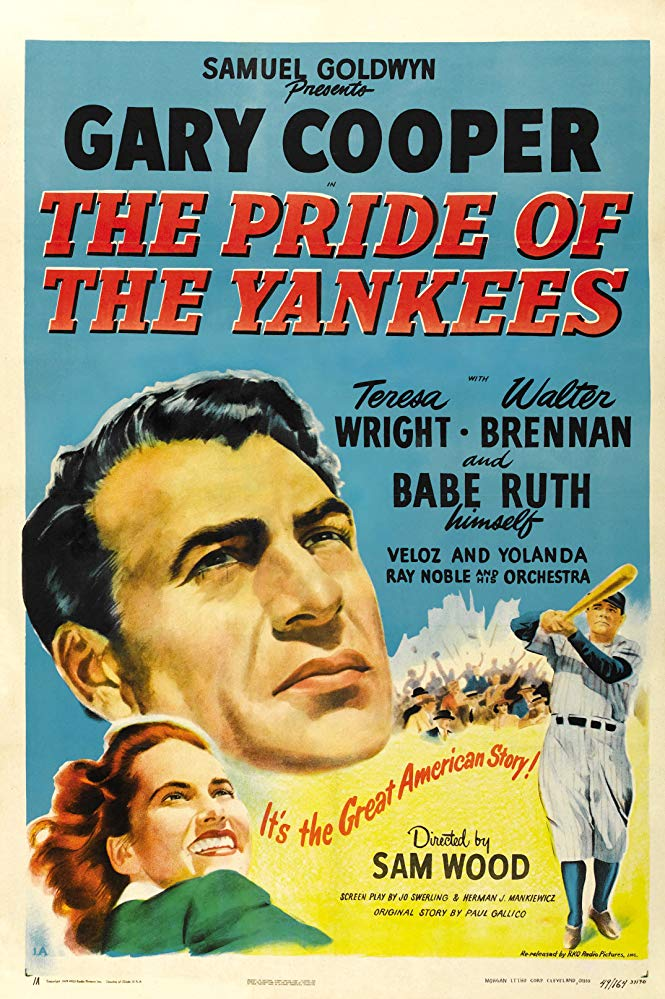 Pride of the Yankees Movie Poster