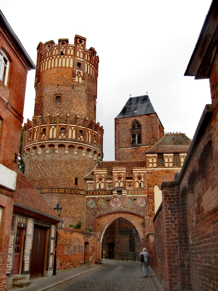 Germania est cosa vedere: l'ingresso al borgo di Tangermünde
