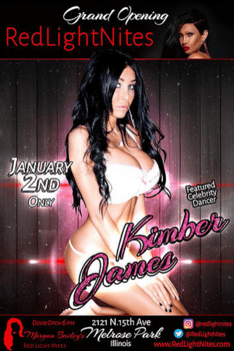 Red Light Nites Kimber James