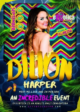 Dillion Harper Exxxotica Miami 2019