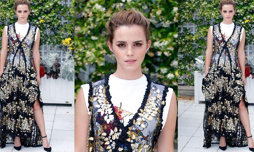 L'astuce d'Emma Watson pour être ultra cool sur tapis rouge (via Grazia.fr)