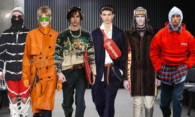 Les 20 tendances mode de la Fashion Week homme automne-hiver 2017-2018 (via Vogue)