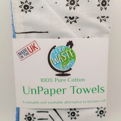 reusable fabric unpaper towel pack