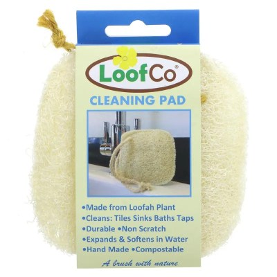 loofah cleaning pad