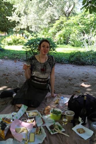 Birthday dirt picnic!
