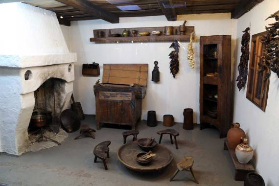 19th century Balkan kitchen