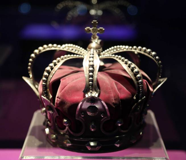 Royal crown of Romania made from a cannon 1887