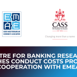 Centre for Banking Research launches Conduct Costs Project in cooperation with EMEA