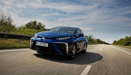 Pilotversuch mit Toyota Mirai im Saarland