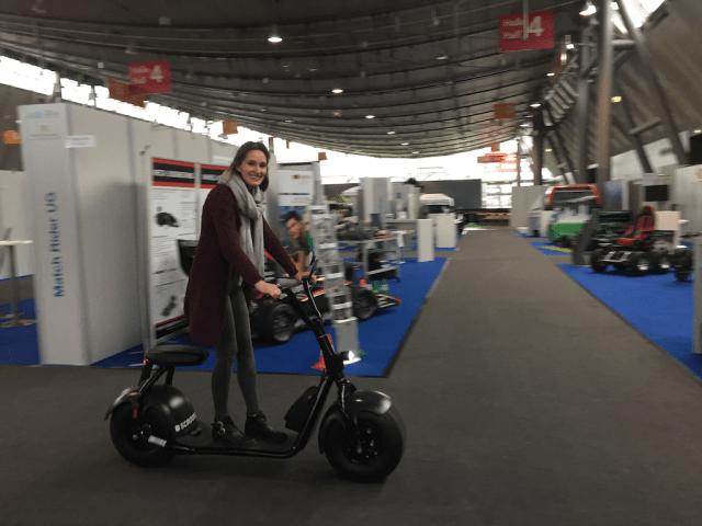 Selbsttest auf der ams i-mobility Messe Stuttgart