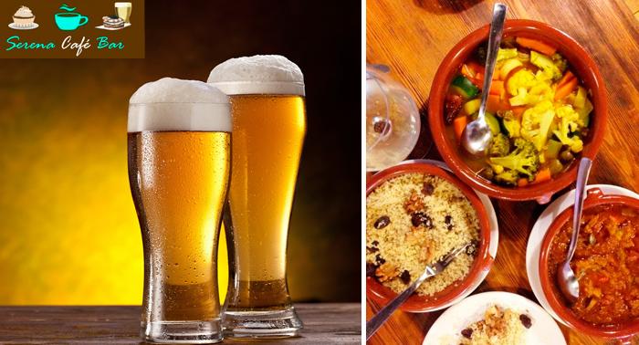 Emociom Almera Deliciosa racin Alpujarrea 4 tapas y jarra de cerveza o tinto por slo 10