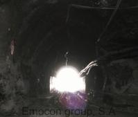 Vista desde Túnel , Mina mojón