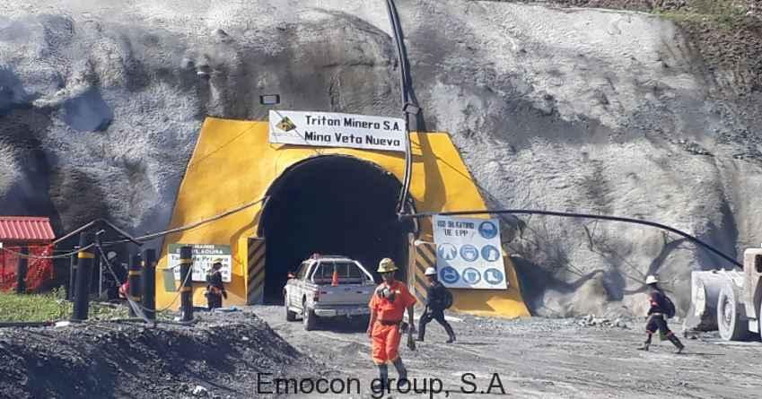 Proyecto Minero UG Veta Nueva