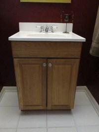 Guest Bathroom: Vanity Update  Emodel your home