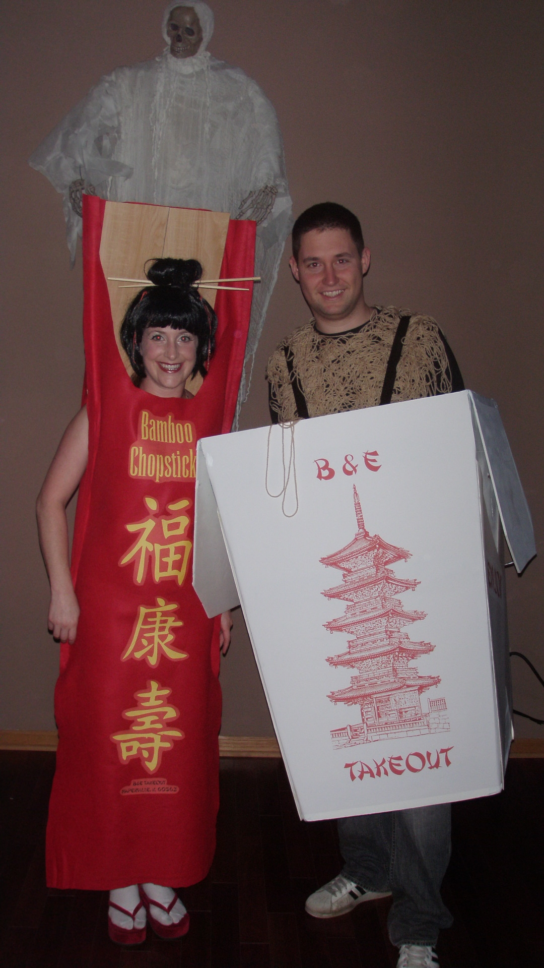 Halloween 2009 Chinese Takeout  Emodel your home