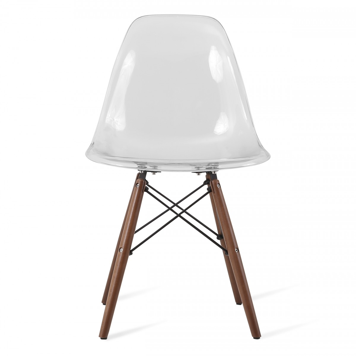 Acrylic Chairs Eames Style Dsw Clear Acrylic Plastic Dining Shell Chair