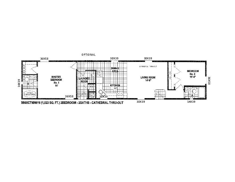 Single Wide Mobile Home Floor Plans 2 Bedroom > PierPointSprings.com