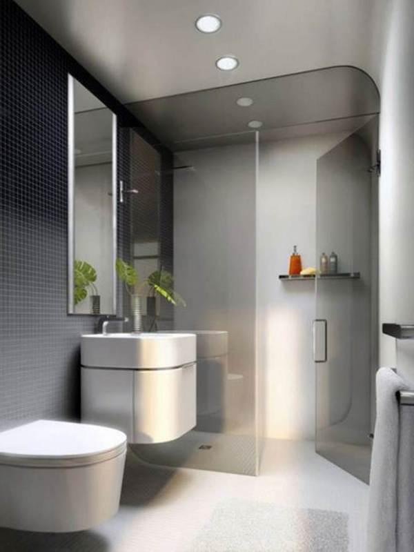 Small Modern Bathroom Design Idea
