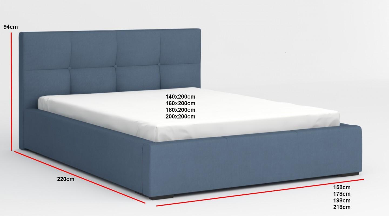 Bett Bettkasten 140x200 Bett Mit Bettkasten 140x200