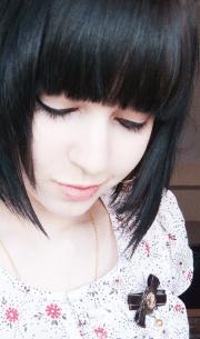 black emo hairstyles