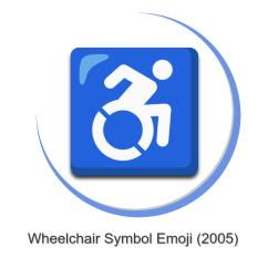 Wheelchair Emoji Tolix Marais Chair Symbol The Ultimate Guide