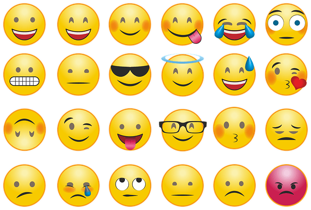 smiley people emoji list
