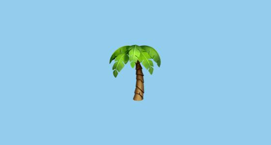 Galaxy S4 Fall Wallpaper Palm Tree Emoji