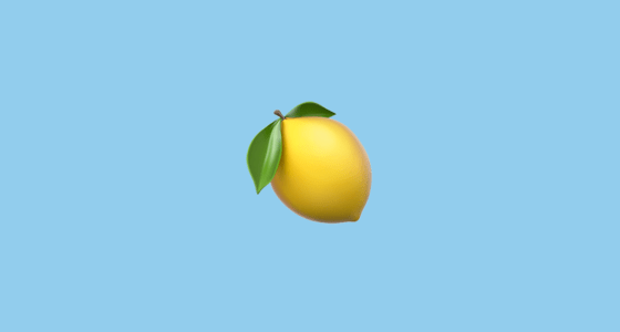Galaxy S4 Fall Wallpaper Lemon Emoji
