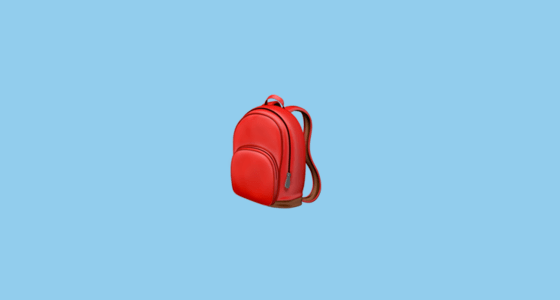 Fall Creators Update Wallpaper School Satchel Emoji