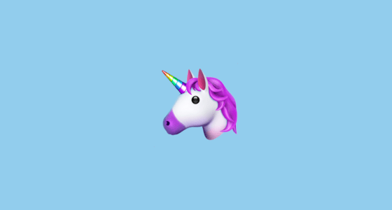 Cute Pink Pig Wallpaper Unicorn Face Emoji On Apple Ios 11 3