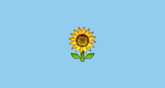 Emoji Iphone Wallpaper Sunflower Emoji On Apple Ios 10 0