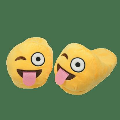 Emojitofflor som blinkarmed tungan ute